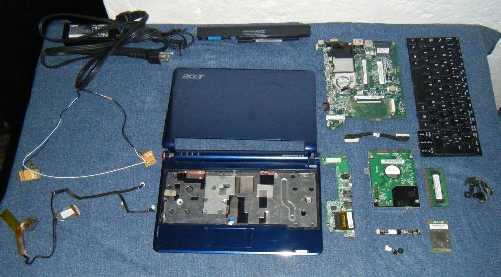 Acer_Aspire_One_ ZG5_desmontado-donderepararportatil.com