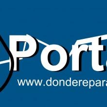 Logo DrPortatil A3 con direccion web